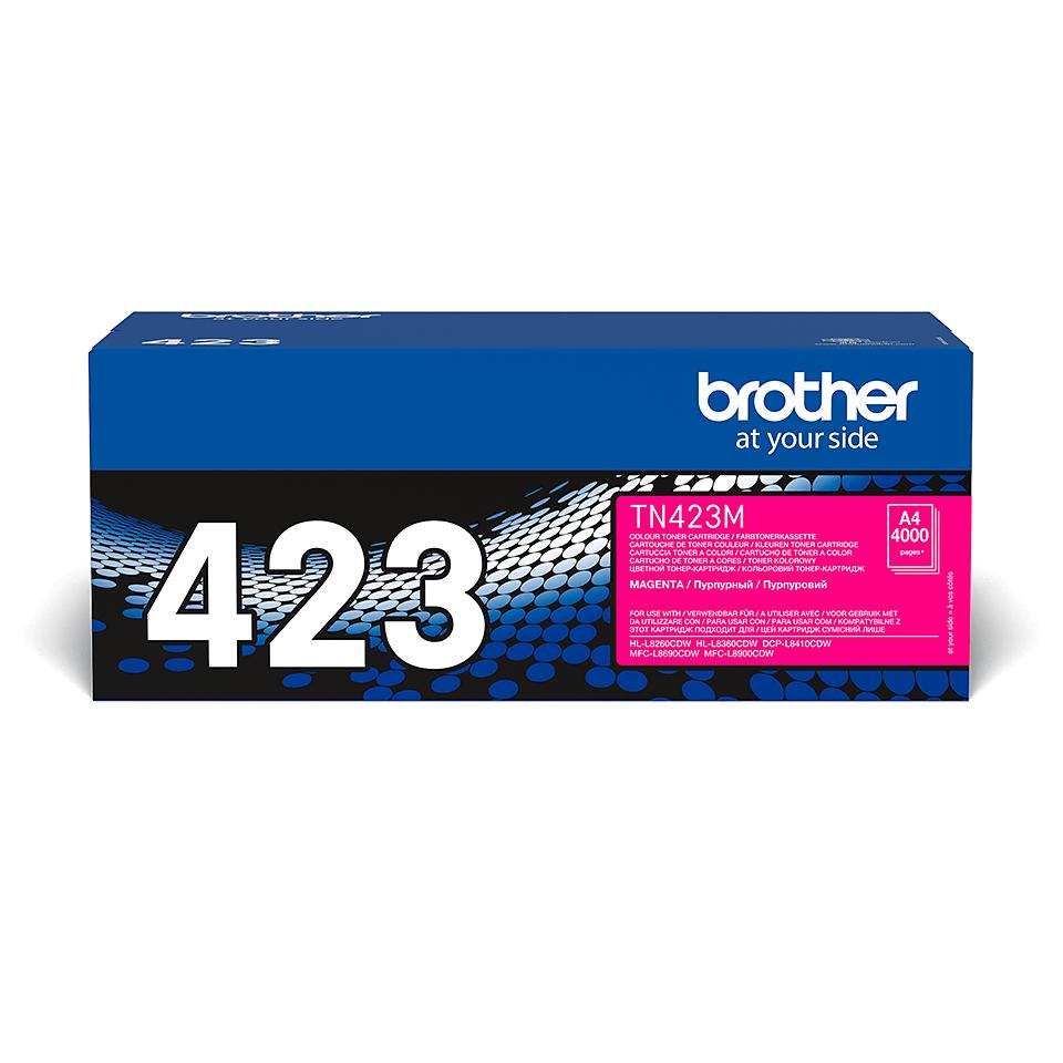 Original Brother TN423M toner – magenta
