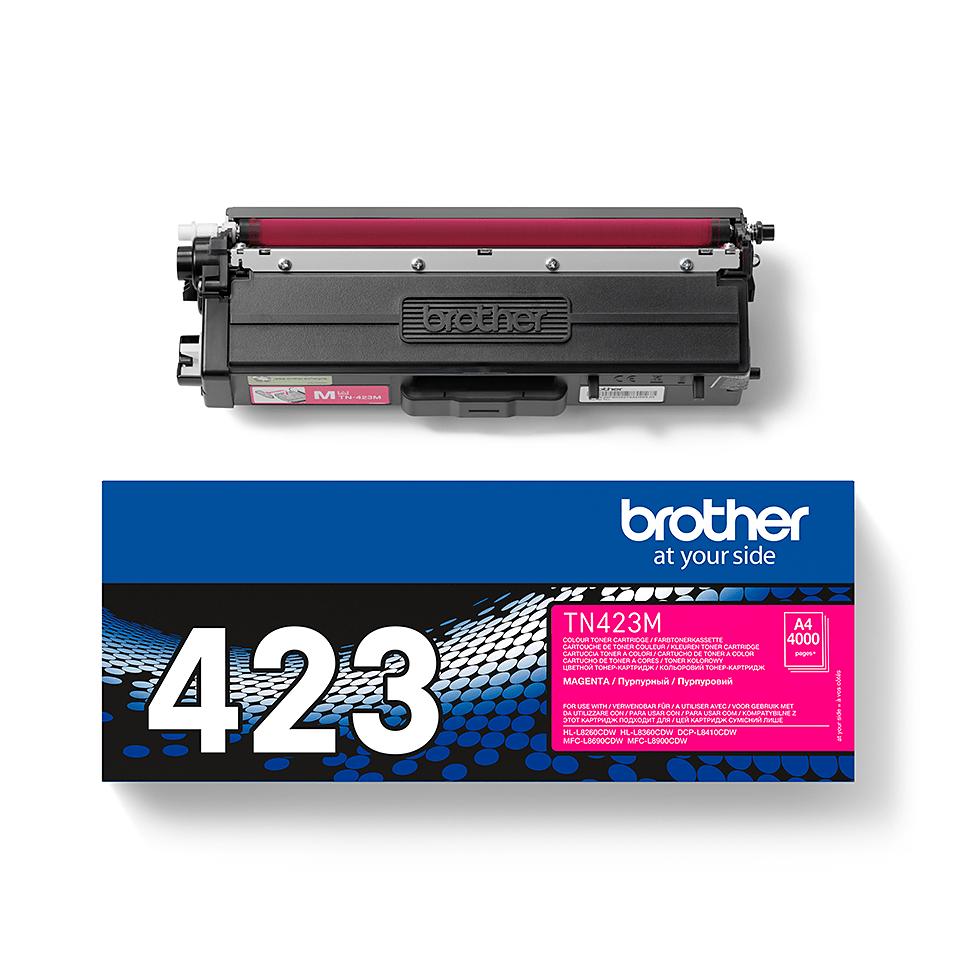 Original Brother TN423M toner – magenta 2