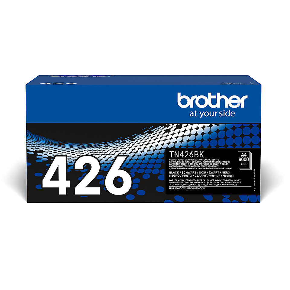 Original Brother TN426BK toner – sort