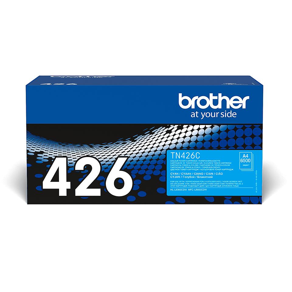 Original Brother TN426C toner – cyan