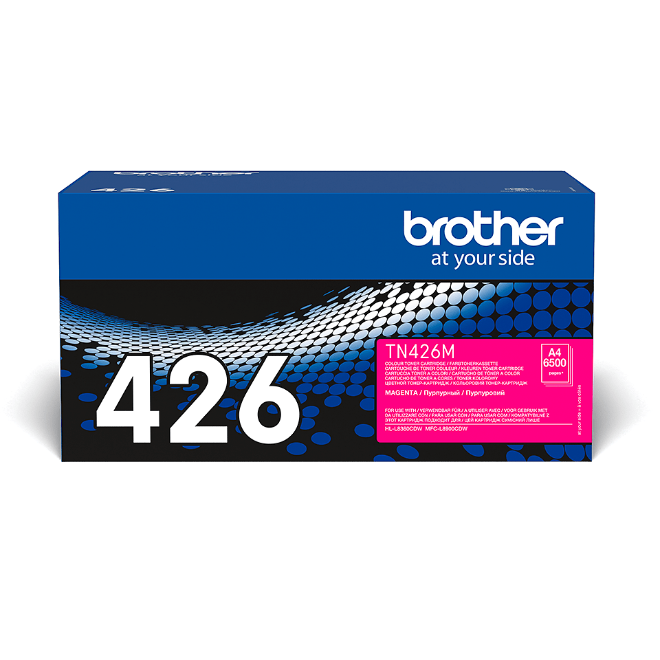 Original Brother TN-426M toner – Magenta