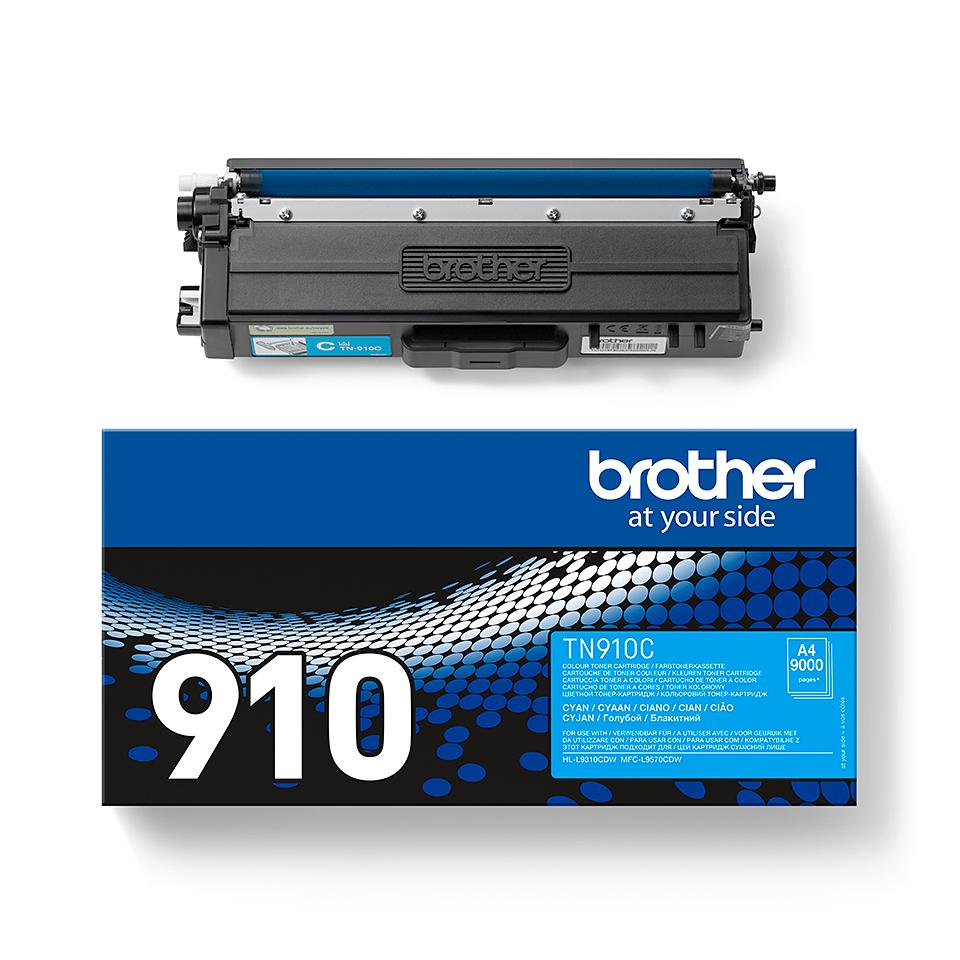 Brother TN-910C toner - cyan 1