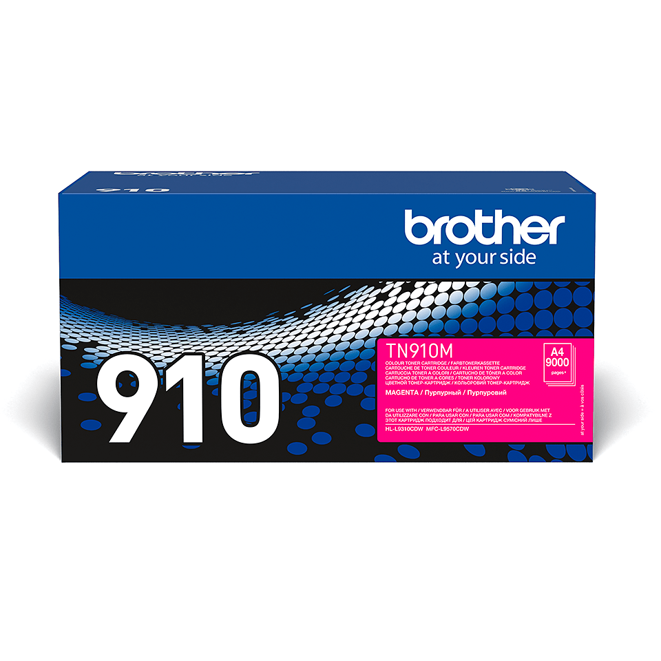Original Brother TN910M toner – magenta