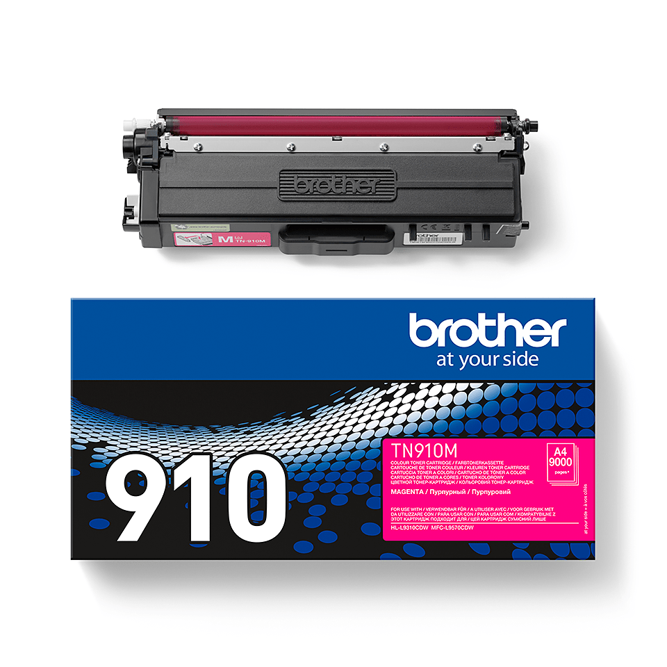 Original Brother TN910M toner – magenta 2