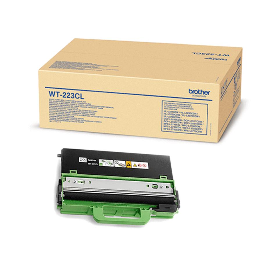 Original Brother WT223CL spildtonerbeholder 2