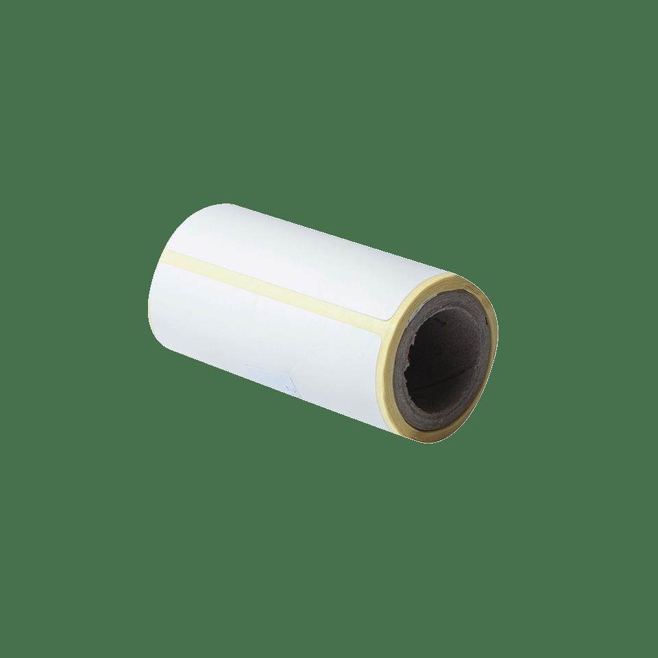 BDE-1J044076-040 - udstanset labelrulle i hvid 2