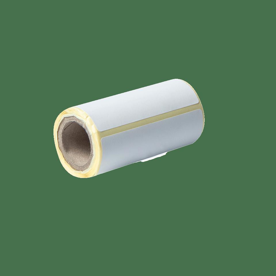 BDE-1J044076-040 - udstanset labelrulle i hvid 3