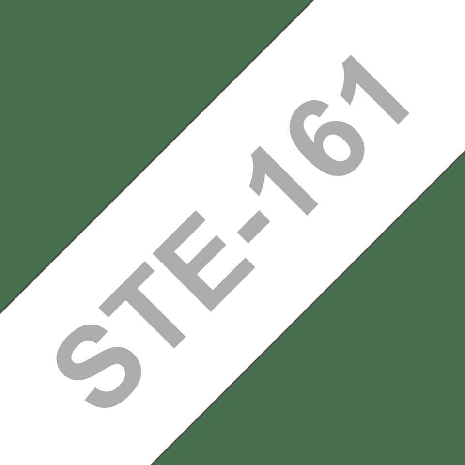 Original Brother STe161 stencil-/elektrolysetape – sort, 36 mm bred 3