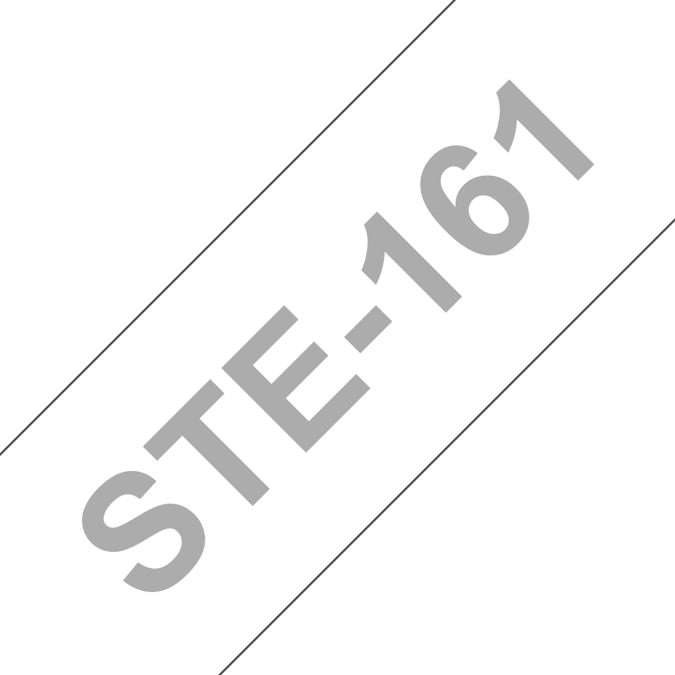 Original Brother STe-161 stencil- og elektrolysetape – sort, 36 mm bred 3