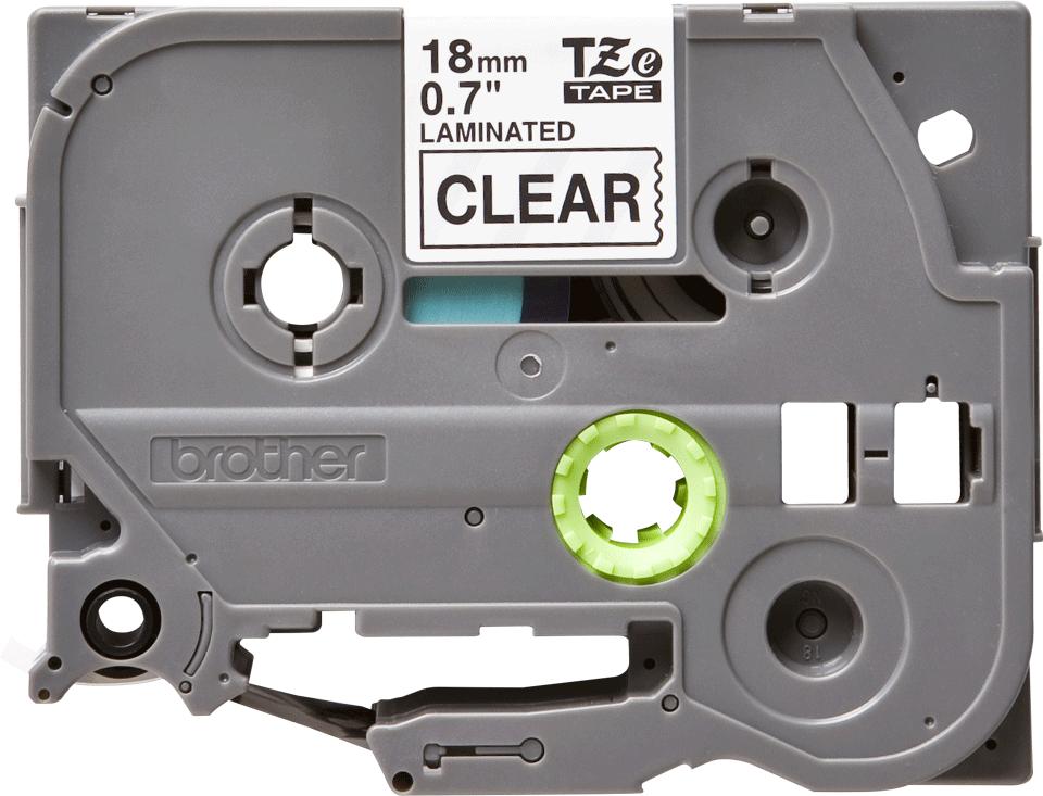 Original Brother TZe141 – sort på klar, 18 mm bred 2