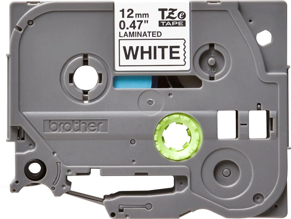 Original Brother TZe-231 tape – sort på hvid, 12 mm bred 2
