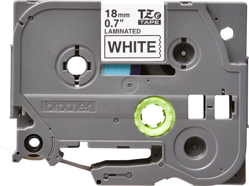 Original Brother TZe241 tape – sort på hvid, 18 mm bred 2