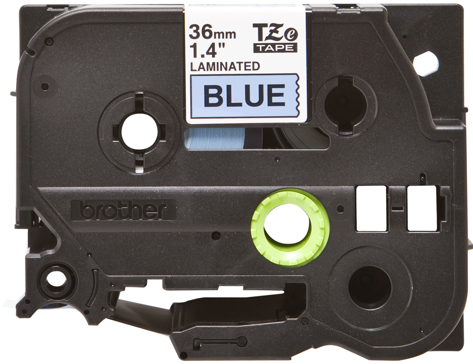 Original Brother TZe561 tape – sort på blå, 36 mm bred 2