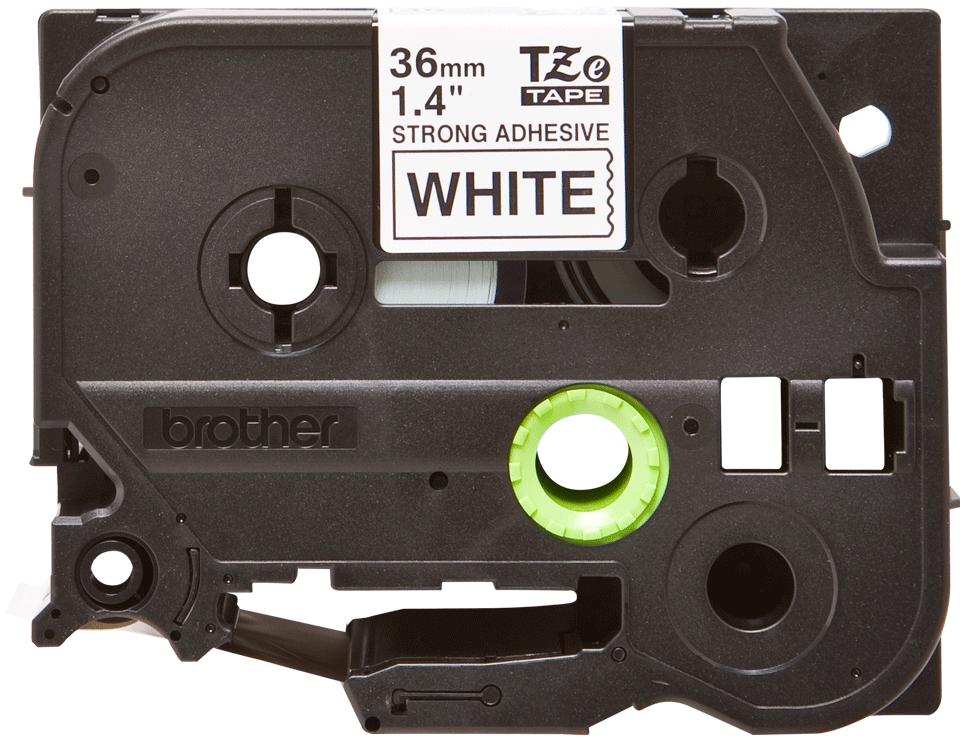 Original Brother TZeS261 tape – sort på hvid, 36 mm bred 2