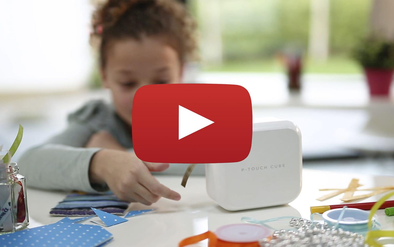 P-touch CUBE Plus i hvid (PT-P710BTH) - genopladelig labelprinter med Bluetooth 11