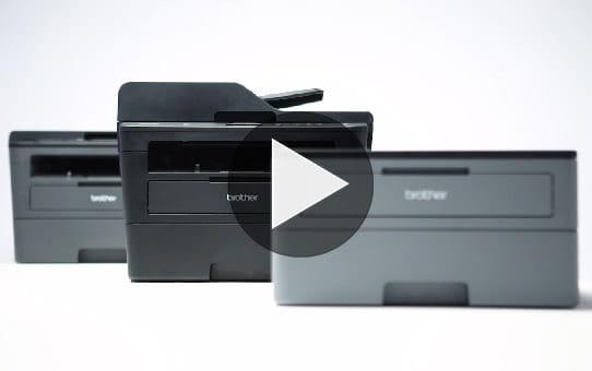 HL-L2350DW er en kompakt, trådløs, s/h-laserprinter 7