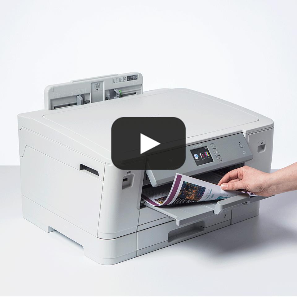 HL-J6000DW trådløs A3 inkjetprinter 7