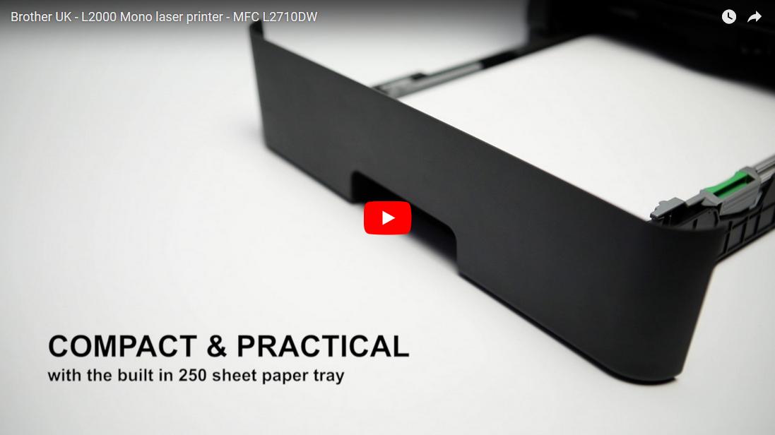Brother MFC-L2710DW - kompakt trådløs alt-i-én s/h-laserprinter 8