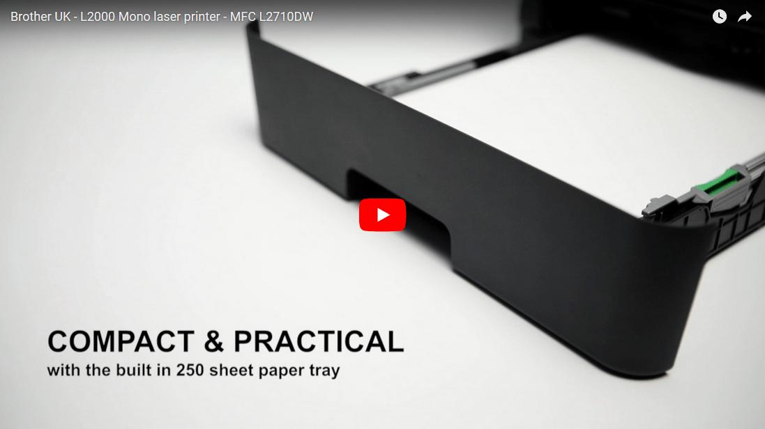 MFC-L2710DW - kompakt trådløs alt-i-én s/h-laserprinter 7