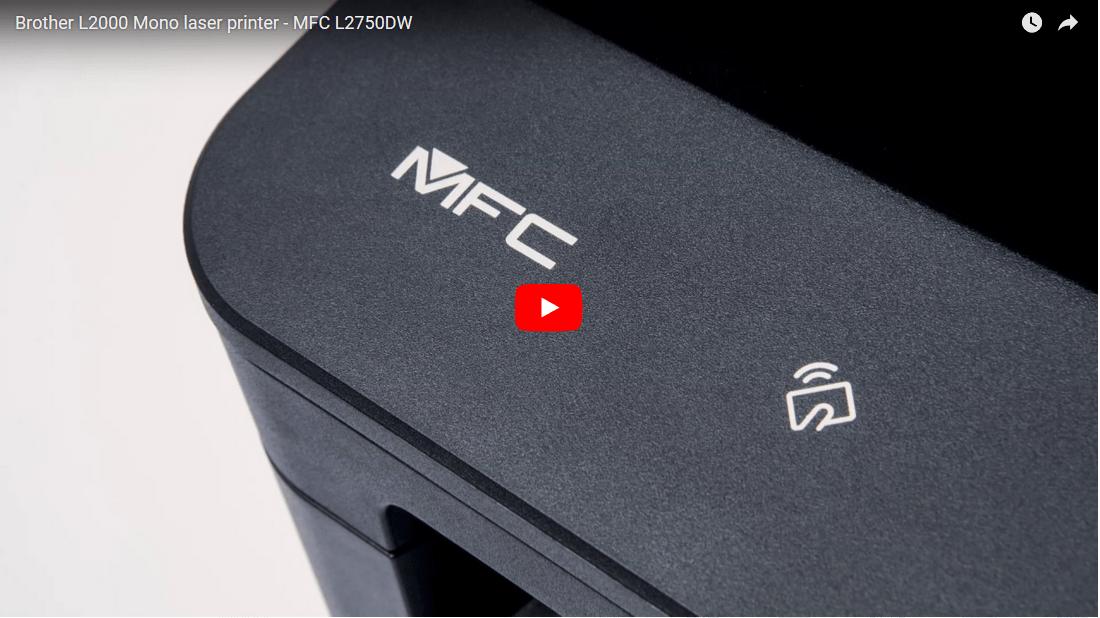 Brother MFC-L2750DW - kompakt alt-i-én-laserprinter med trådløst og kablet netkort 7