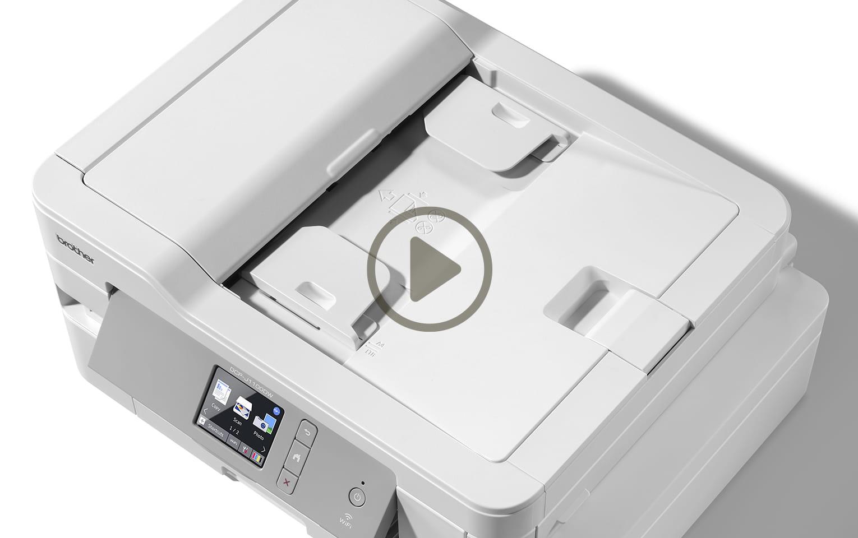 MFC-J1300DW - trådløs alt-i-én-inkjetprinter med fax, All In Box-pakke 10