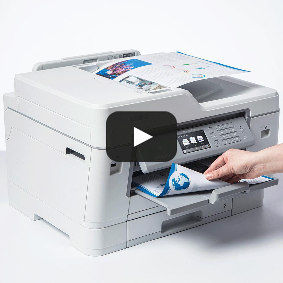 MFC-J6945DW trådløs A3 alt-i-én inkjetprinter med fax 7