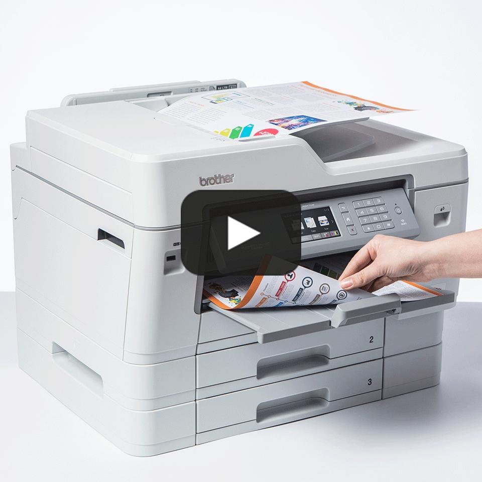 MFC-J6947DW trådløs A3 inkjetprinter med fax 7